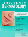 Cornell University issue of Cosmetic Dermatology peer review